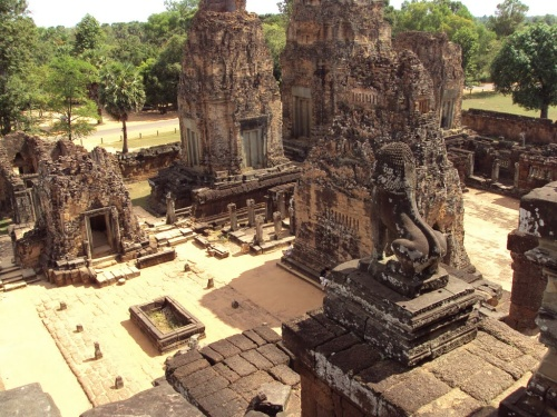 A temple in Angkor