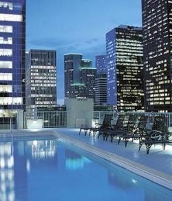 Pool on top of a condominium building. Source: http://www.houstonproperties.com/condo-houston-high-rises.html