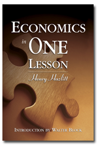 Economics In One Lesson. Source: Mises Store