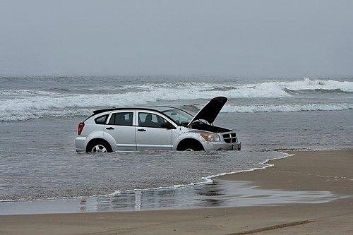 Flooded Car. Source: Alan Vernon