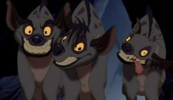 Lion King Hyenas. Source: http://lionking.wikia.com/wiki/Hyenas