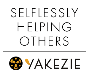Selflessly helping others. Yakezie