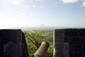English: Brimstone Hill Fortress, St Kitts.