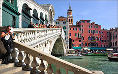 Venice : The Rialto bridge  - 2