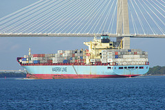 Maersk Carolina (Cargo Ship) at Charleston, So...