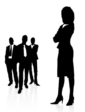 Business men and a business woman. Source: http://www.four2one.eu/421EUAbout.htm