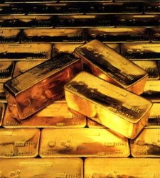 Gold bars. Source: http://www.australianminesatlas.gov.au/education/rock_files/gold.jsp