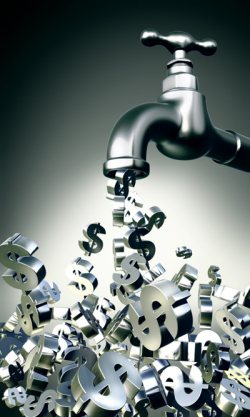 Money faucet. Source: http://www.extremumspiritum.com/category/federal-reserve/