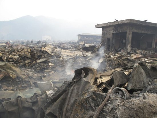 Otsuchi destroyed. Photo: IFRC/RED CROSS, Source: http://www.pbs.org/newshour/multimedia/japan_redcross/5.html