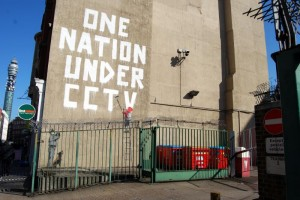 Bansky, One Nation Under CCTV. Source: http://commons.wikimedia.org/wiki/File:Bansky_one_nation_under_cctv.jpg