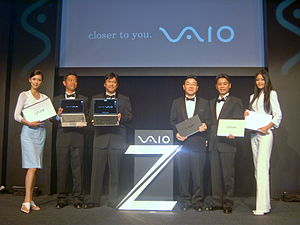 Sony Taiwan VAIO Experience 2008 Press Conference.