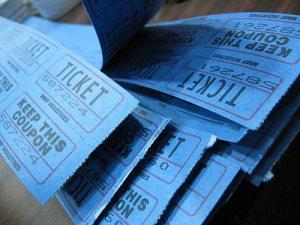 Raffle tickets. Source: http://www.flickr.com/photos/alykat/5848722/