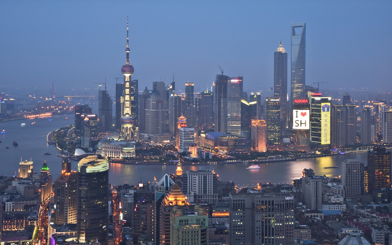 Shanghai, China, 2010. Source: http://www.businessinsider.com/shanghai-1990-vs-2010-2010-6