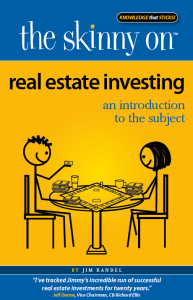Real Estate Investing (book). Source: http://theskinnyon.com/real-estate-investing.aspx