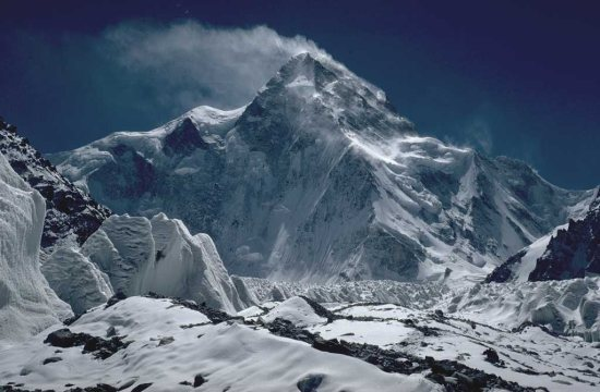 K2 as seen from the north. Source: http://en.wikipedia.org/wiki/File:K2_Nordseite.jpg