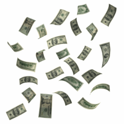 Flying Money. Source: http://www.wacky-media.com/2009_06_14_archive.html