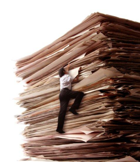 A huge paper stack. Source: http://www.legaljuice.com/index.html?page=11