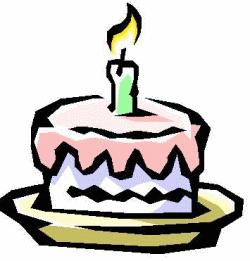 Birthday cake. Source: (seen on multiple sites)
