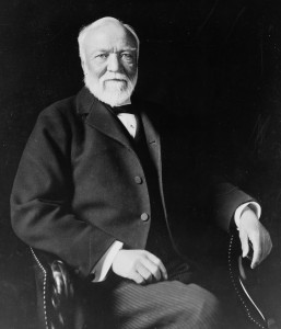 Andrew Carnegie, American businessman and philanthropist. (Photo credit: Wikipedia)