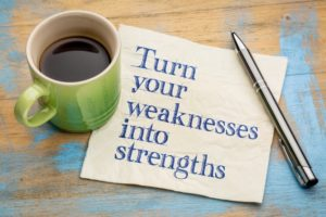 turning weakness into strength