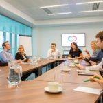 meeting executives