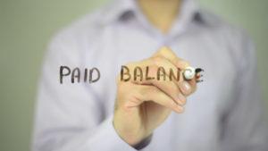 paid balance clipart